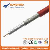 Van CATV en kabeltelevisie- Mededeling 75ohm Rg59 Coaxiale Kabel