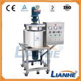 Sabão líquido que processa a máquina de mistura com agitador