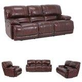 Alta qualidade e sofá de couro de venda quente da função para o uso da sala de visitas