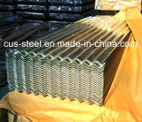 feuille ondulée de dégrossissage de Material/Gi galvanisée par 0.15mm