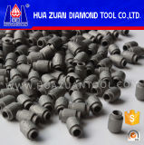 Huazuan Hot Sale 7.2mm Diamonds Beads para perfis de granito usando