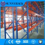 Sistema resistente industrial do racking do armazenamento do armazém