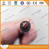 Верхнее качество 75c намочило или сушит провод PVC 14AWG 12AWG 10AWG медный материальный электрический