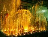 Fontaine d'eau extérieure d'acier inoxydable de décoration d'hôtel