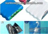 Pacote de bateria de tubo de encolhimento de calor em PVC