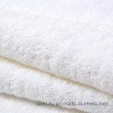 100%年の綿の明白で白いホテル手タオル