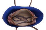 Frauen-Handtaschen-Schulter-BeutelTote innerhalb des Segeltuch-Beutels abnehmbar