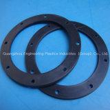 Fabricación Nilón mecanizado PA66 Lavadora Arandela de plástico