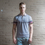 고품질 느슨한 순수한 색깔 온화한 남자 폴로 셔츠 골프 옷