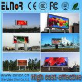 Pantalla a todo color al aire libre del vídeo de la consumición P20 LED de las energías bajas