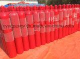50L cilindro de gas del acero inconsútil del nitrógeno 150bar/200bar