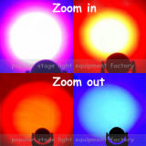 2016 diodo emissor de luz novo Moving Head Zoom Light de 7PCS 40W Osram