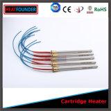 Calentador del cartucho de la densidad Ss304 del poder más elevado