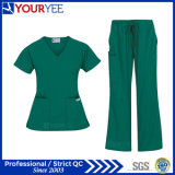 Cheap Customized Fashion Hospital Medical Uniforms Nursing Scrubs (YHS113)