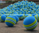 Regenbogen-Farbe EVA-Spielwaren der materiellen Kugel-Schaumgummi-Schwamm-Kinder der Kind-lustige Spielzeug-Kugel-3.5cm
