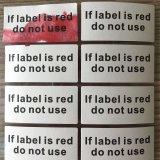Sticker/Etiket van de Garantie van het water het de Gevoelige