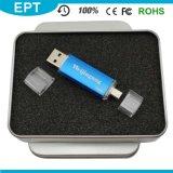A melhor movimentação 4GB do flash do USB do preço de grosso mini OTG (TJ127)