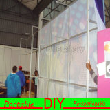 Mur de contexte d'expo incurvé par forme modulaire portative faite sur commande de tissu de DIY