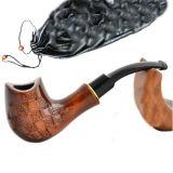 Mão de gama alta madeira cinzelada Smoking&#160 da pera da tubulação de tabaco; Tubulação
