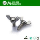 Boulon d'aile de guindineau d'acier inoxydable DIN316