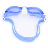 Widergespiegeltes Anti-Fog Silicone Swimming Goggles mit CER und Intertek Report (mm-6903)