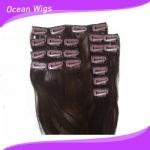 Virgin por atacado Human Clip brasileiro em Hair Extensions para Black Women
