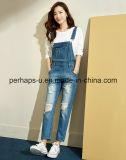 De façon générale occasionnels de jeans de denim de femmes longs