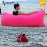 単一の口の空気不精な豆袋の膨脹可能なキャンプのバナナの寝袋の膨脹可能な空気ソファーベッド
