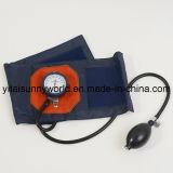 Tipo Shockproof Sphygmomanometer de Franch do punho com acessório de couro (SW-AS06)