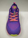新しいデザイン女性のための紫色のテニスシューズのスニーカー