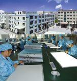 LED 천장판 빛 595*595*9mm 40W 100lm/W 매우 SMD2835 사무실 위원회 빛 실리콘 통제 Dimmable 호리호리한 기능