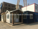 Casa móvil modificada para requisitos particulares/chalet prefabricados/prefabricados por los días de fiesta Llife