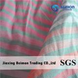 O fio da boa qualidade 10.5mm tingiu a tela de algodão da seda 75% de 25%