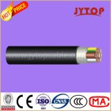 Câble cuivre de Yxv N2xy, 0.6/1 kilovolt XLPE isolé, multiconducteur de câble