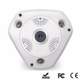 360 câmera panorâmico do IP de Fisheye 3D Vr P2p do grau