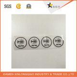 Autoadesivo trasparente adesivo di stampa del contrassegno stampato documento della modifica del PVC del vinile