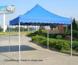 2016キャンプテントの青に関してはおおいが付いている4人の標準的なグループの屋外のテント