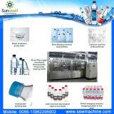 Linha de produção da água bebendo