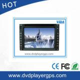 Lecteur DVD de véhicule de l'universel deux DIN avec l'écran de 6.2 pouces