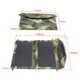 paquet solaire portatif flexible imperméable à l'eau populaire du chargeur 12W