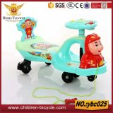 De Auto van de Schommeling van de Baby van het Speelgoed van het kind met Beer/Varken/Dierlijke Hoofden Mickey