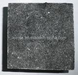 Tuile de mur de granit de pavé du noir G684, tuile de granit