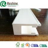 Componentes brancos da grelha do indicador do obturador do PVC da pintura