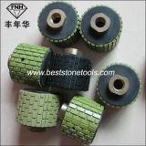 Rueda del pulido con tambor de la resina RP-54 para la piedra