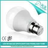 lámpara del globo de 220V A60 10W B22 LED