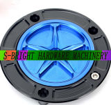 Motorcycle MotorbikeまたはModified MotorcycleのためのCNC Part Billet Keyless Lightweight Fuel Gas Tank Cap