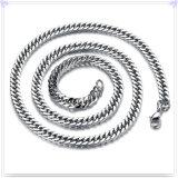 Catena dell'acciaio inossidabile della collana di modo dei monili di modo (SH065)