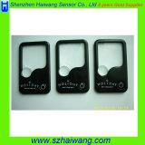 휴대용 3X 6X는 돋보기 초로 독서를 위한 확대 LED 점화 신용 카드 이중으로 한다