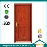 Porte en bois blanche de placage avec la qualité de forces de défense principale (WDP5053)