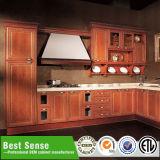 Gabinete de canto do dissipador de cozinha do armazenamento da casa de campo